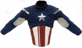 Hot Toys Avengers Captain America LOOSE 1/6 Scale Red, White & Blue Combat Uniform Jacket