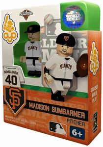 OYO Baseball MLB Building Brick Minifigure 2012 World Series Champions Madison Bumgarner [San Francisco Giants]