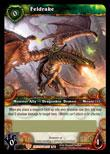 World of Warcraft War of the Ancients Unscratched Loot Card #3 Feldrake