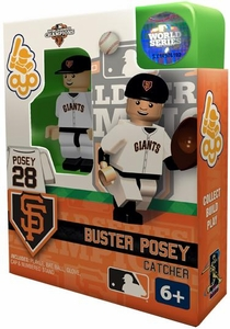 OYO Baseball MLB Building Brick Minifigure 2012 World Series Champions Buster Posey [San Francisco Giants]