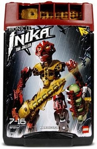 LEGO Bionicle Toa INIKA Figure #8727 Jaller [Red]