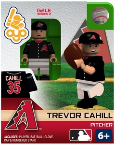 OYO Baseball MLB Generation 2 Building Brick Minifigure Trevor Cahill [Arizona Diamondbacks]