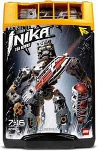 LEGO Bionicle Toa INIKA Figure #8730 Hewkii [Yellow]