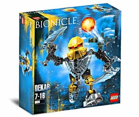 LEGO Bionicle Set #8930 Dekar [Yellow]
