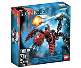 LEGO Bionicle Set #8931 Thulox [Red]