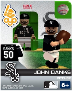 OYO Baseball MLB Generation 2 Building Brick Minifigure John Danks [Chicago White Sox]