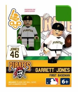 OYO Baseball MLB Building Brick Minifigure Garrett Jones [Pittsburgh Pirates]