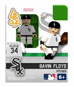 OYO Baseball MLB Building Brick Minifigure Gavin Floyd [Chicago White Sox]