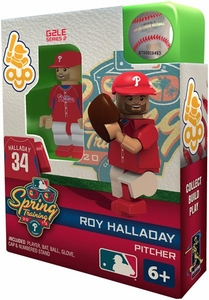 OYO Baseball MLB Building Brick Minifigure Spring Training Roy Halladay [Philadelphia Phillies]
