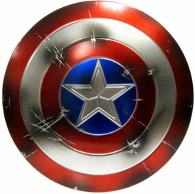 Hot Toys Avengers Captain America LOOSE 1/6 Scale Captain America's Shield [Battle Damaged]