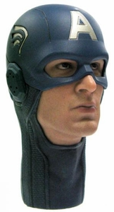 Hot Toys Avengers Captain America LOOSE 1/6 Scale Captain America's Head