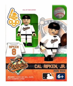 OYO Baseball MLB Building Brick Minifigure Cal Ripken Jr. [Baltimore Orioles Hall of Fame]
