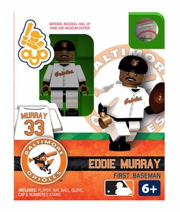 OYO Baseball MLB Building Brick Minifigure Eddie Murray [Baltimore Orioles Hall of Fame]