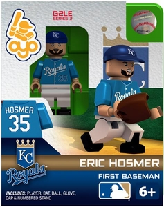 OYO Baseball MLB Generation 2 Building Brick Minifigure Eric Hosmer [Kansas City Royals]