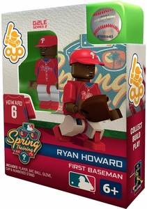 OYO Baseball MLB Building Brick Minifigure Spring Training Ryan Howard [Philadelphia Phillies]