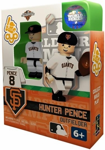 OYO Baseball MLB Building Brick Minifigure 2012 World Series Champions Hunter Pence [San Francisco Giants]