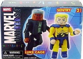 Marvel Minimates Series 12 Mini Figure 2-Pack Luke Cage & Sentry