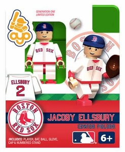 OYO Baseball MLB Building Brick Minifigure Jacoby Ellsbury [Boston Red Sox]