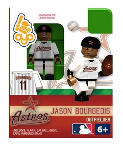 OYO Baseball MLB Building Brick Minifigure Jason Bourgeoi [Houston Astros]
