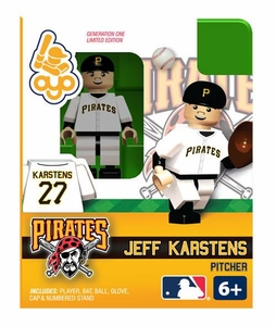 OYO Baseball MLB Building Brick Minifigure Jeff Karstens [Pittsburgh Pirates]