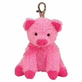 Ty Pinkys Silky the Pig Key Clip