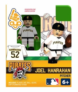 OYO Baseball MLB Building Brick Minifigure Joel Hanrahan [Pittsburgh Pirates]
