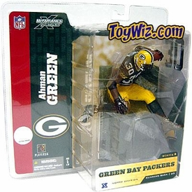 McFarlane Toys NFL Sports Picks Series 8 Action Figure Ahman Green (Green Bay Packers) Green Jersey