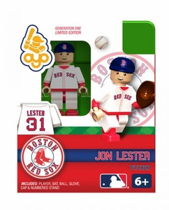 OYO Baseball MLB Building Brick Minifigure Jon Lester [Boston Red Sox]