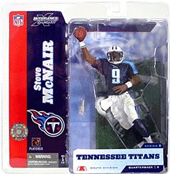 McFarlane Toys NFL Sports Picks Series 8 Action Figure Steve McNair (Tennessee Titans) Blue Jersey