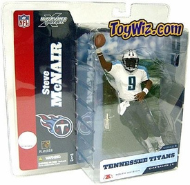 McFarlane Toys NFL Sports Picks Series 8 Action Figure Steve McNair (Tennessee Titans) White Jersey Variant