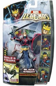 Marvel Legends Series 18 (Hasbro Series 3) Action Figure Black Knight [Brood Queen Build-A-Figure]