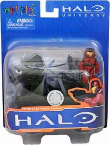 Halo Minimates Exclusive Vehicle M12R1 LAAV �Rocket Warthog�