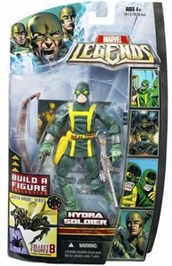 Marvel Legends Series 18 (Hasbro Series 3) Action Figure Hydra Soldier [Closed Mouth] [Brood Queen Build-A-Figure]