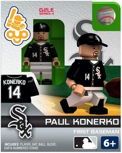 OYO Baseball MLB Generation 2 Building Brick Minifigure Paul Konerko [Chicago White Sox]