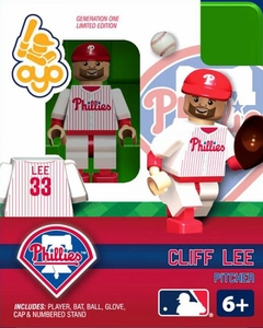 OYO Baseball MLB Building Brick Minifigure Cliff Lee [Philadelphia Phillies]