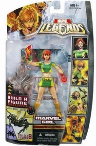 Marvel Legends Series 18 (Hasbro Series 3) Action Figure Marvel Girl [Rachel Gray] [Brood Queen Build-A-Figure]