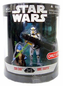 Star Wars Saga 2008 Exclusive Order 66 Action Figure 2-Pack Tsui Choi & Barc Trooper[3 of 6]