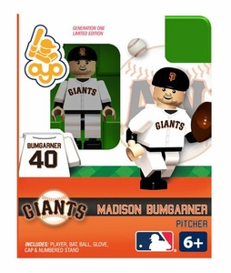 OYO Baseball MLB Building Brick Minifigure Madison Bumgarner [San Francisco Giants]