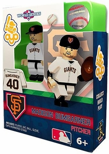 OYO Baseball MLB World Series Edition Building Brick Minifigure Madison Bumgarner [San Francisco Giants]