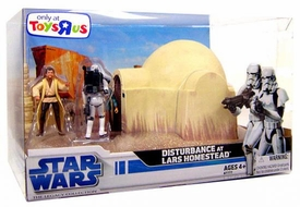 Star Wars Saga 2008 Legacy Collection Exclusive Boxed Set Disturbance on Lars Homestead