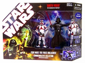 Star Wars Saga 2008 Force Unleashed Exclusive Commemorative Collection [Darth Vader with Incinerator Troopers]