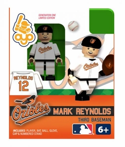OYO Baseball MLB Building Brick Minifigure Mark Reynolds [Baltimore Orioles]