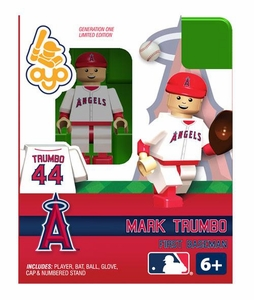 OYO Baseball MLB Building Brick Minifigure Mark Trumbo [Angels of Anaheim]
