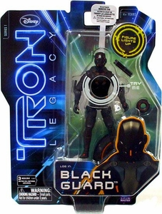 Tron Legacy 3 Inch Core Action Figure Black Guard