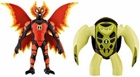 Ben 10 Alien Creation Chamber Mini Figure 2-Pack Ultimate Big Chill & Terraspin