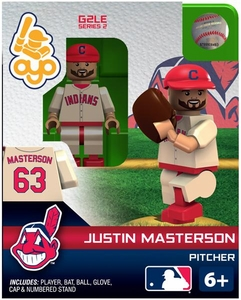 OYO Baseball MLB Generation 2 Building Brick Minifigure Juston Masterson [Cleveland Indians]