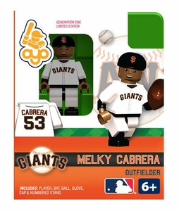 OYO Baseball MLB Building Brick Minifigure Melky Cabrera [San Francisco Giants]