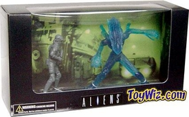 Palisades Toys Aliens Mini Figures Exclusive 2-Pack Dietrich Vs. Alien Warrior