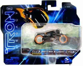 Tron Legacy Series 1 Die Cast Vehicle Clu�s Sentry�s Light Cycle