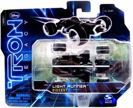Tron Legacy Series 1 Die Cast Vehicle Light Runner